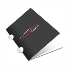PASTA C/ ORELHA Triplex 250g 31X46 4x0 Verniz Total Brilho Corte Reto